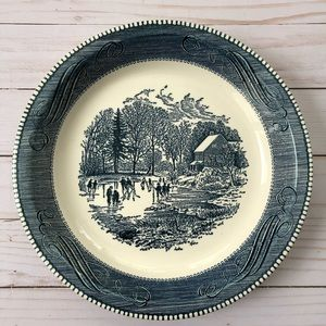 Vintage Royal China by Jeannette pie plate